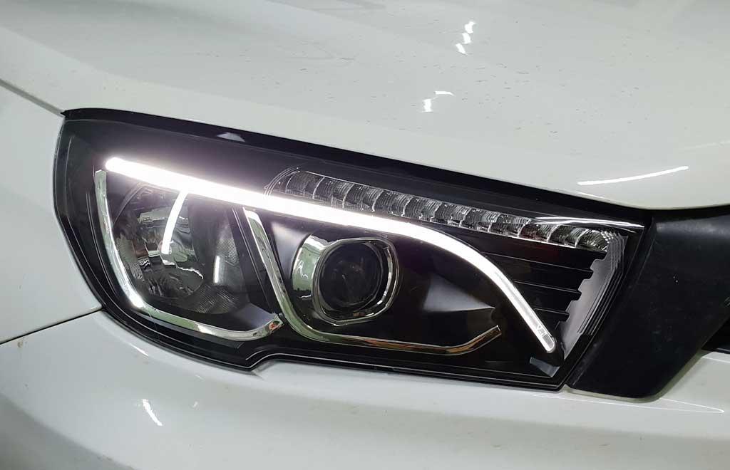 Обновленная Lada Vesta FL получит диодную головную оптику