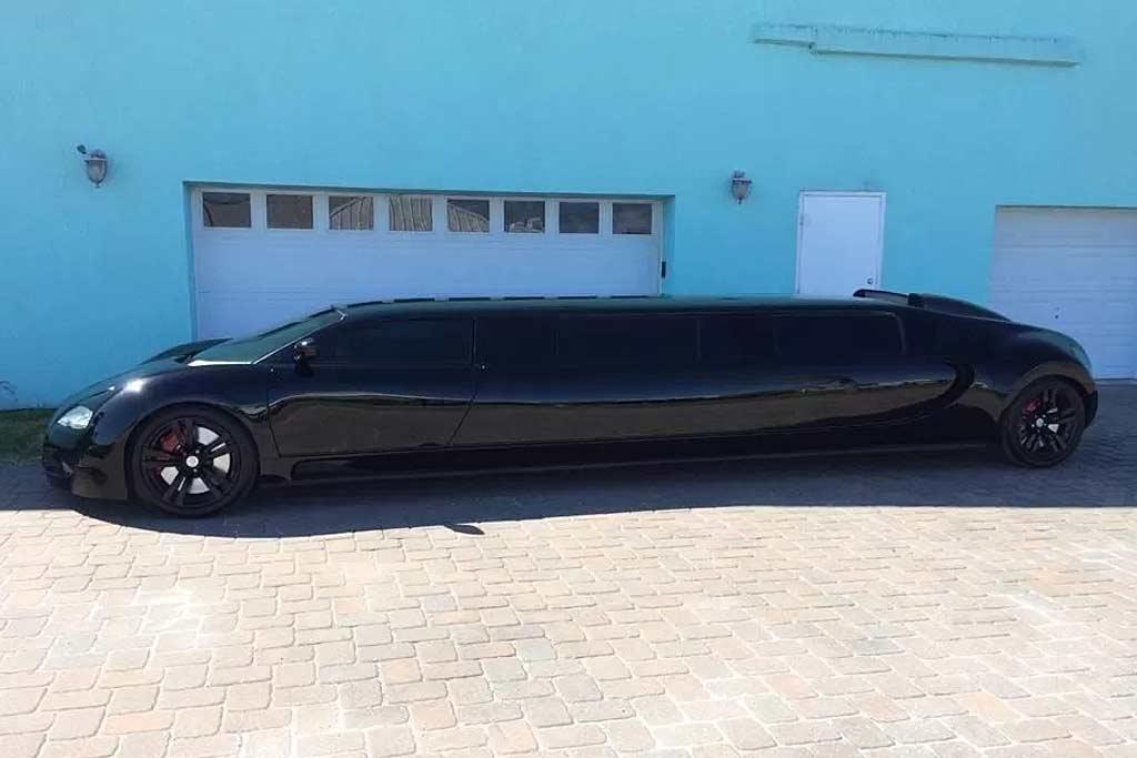Лимузин в стиле Veyron