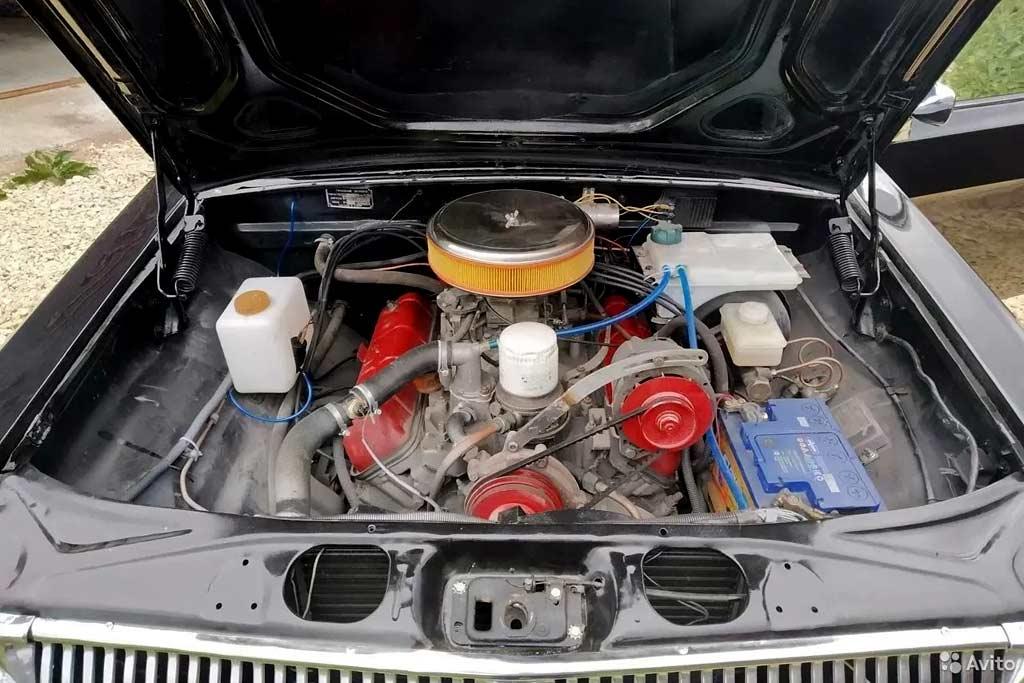 Купе ГАЗ-24 с мотором V8