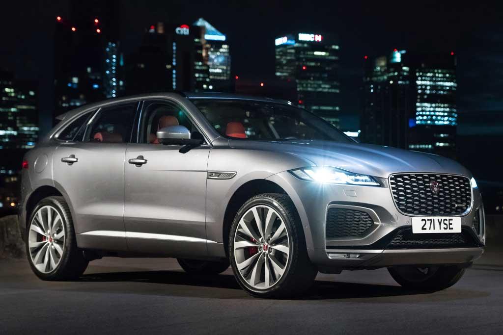 Дороже на полмиллиона: названы цены на новый Jaguar F-Pace 2021 для России