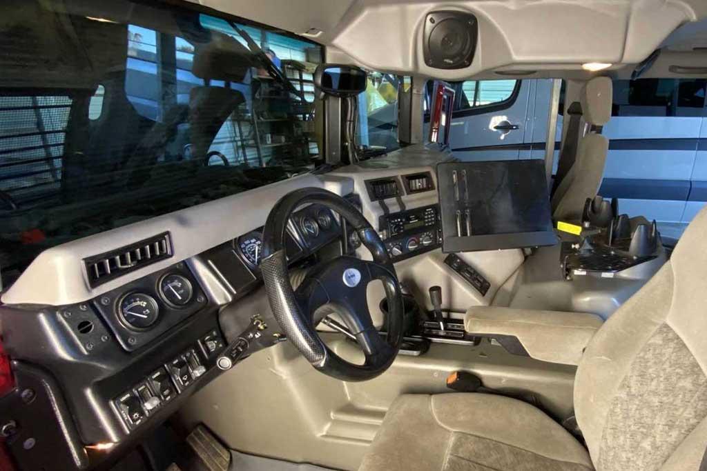 Кемпер Hummer H1