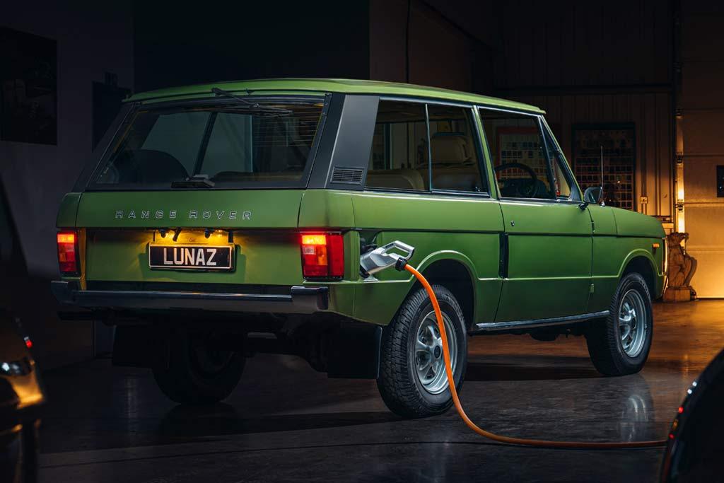 Переделка старого Рендж Ровера в электромобиль обойдется в 24 млн