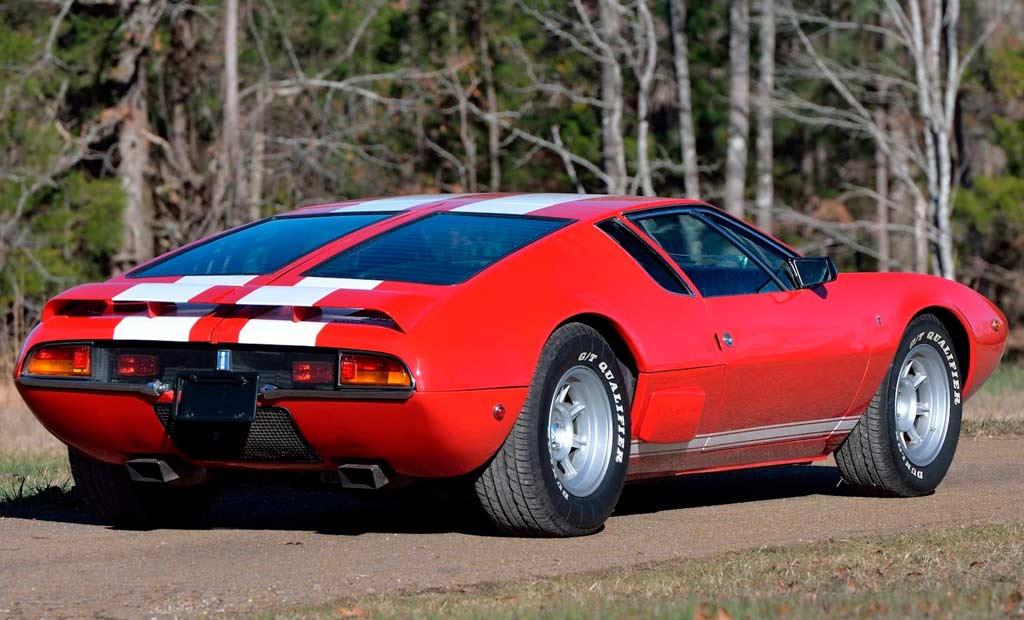 История необычного De Tomaso Mangusta Shelby MkV: был сделан всего один экземпляр