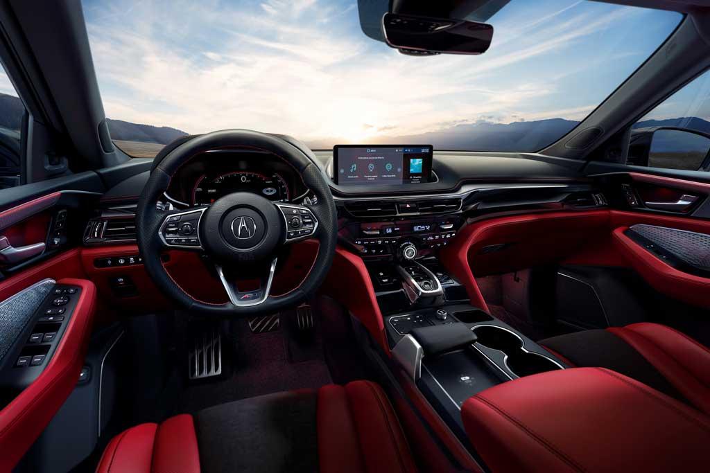 Acura MDX 2021: японцы презентовали самый роскошный кроссовер бренда