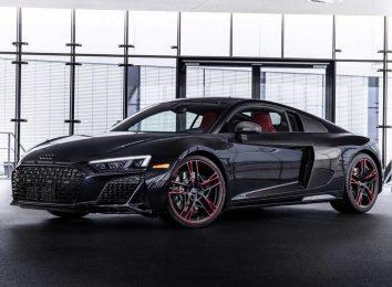 Audi R8 Black Panther