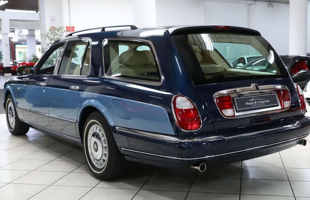 RR Silver Seraph Wagon