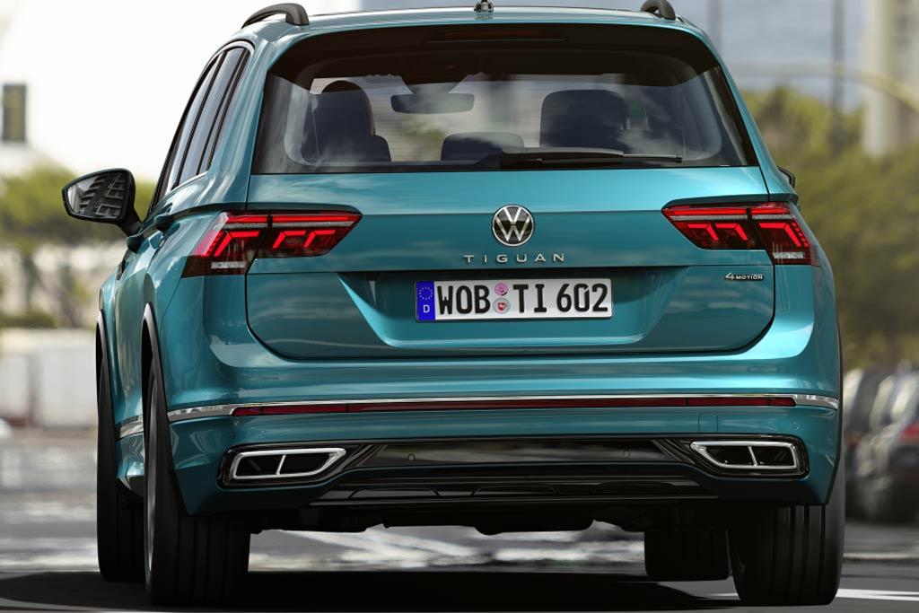 Сколько стоит новый VW Tiguan 2021 в России: названы цены и комплектации
