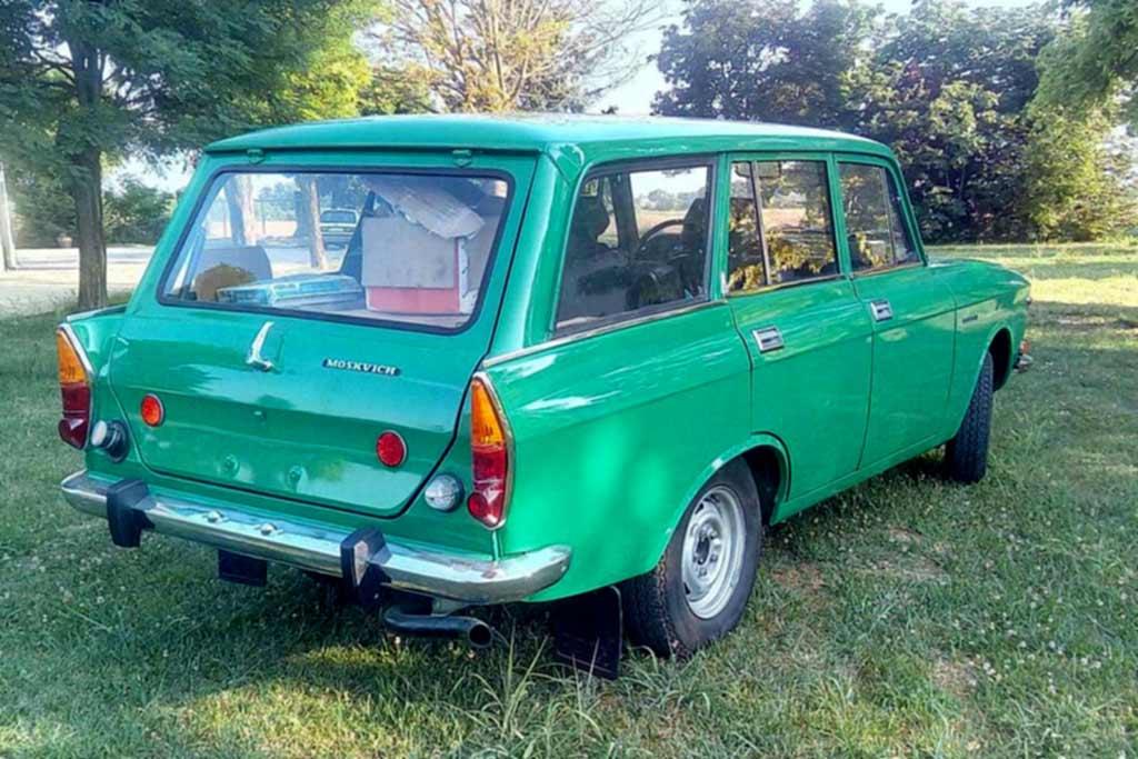 Москвич-2137 1978 года сменил 4 владельцев: но никто не стал на нем ездить