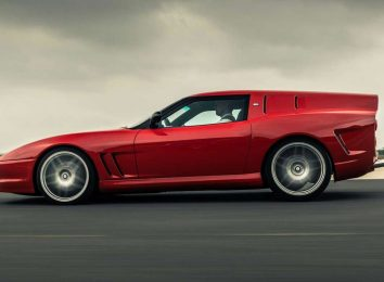 Ferrari 550 Breadvan Hommage