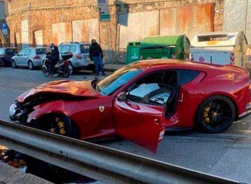 812 Superfast crash
