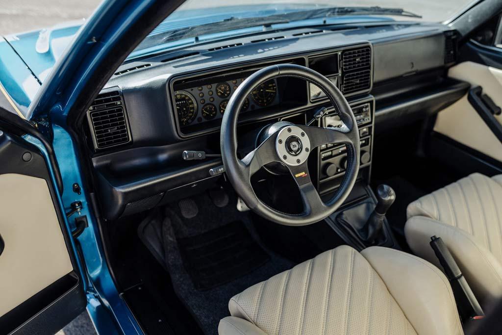 С молотка пустят Lancia Delta HF Integrale Evoluzione II редкого синего цвета