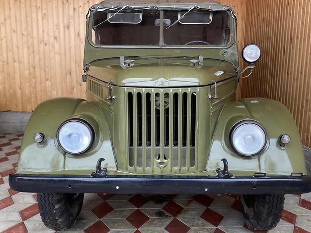 Сохранился до наших дней в отличном состоянии: в Москве продают ГАЗ-69 1971 года