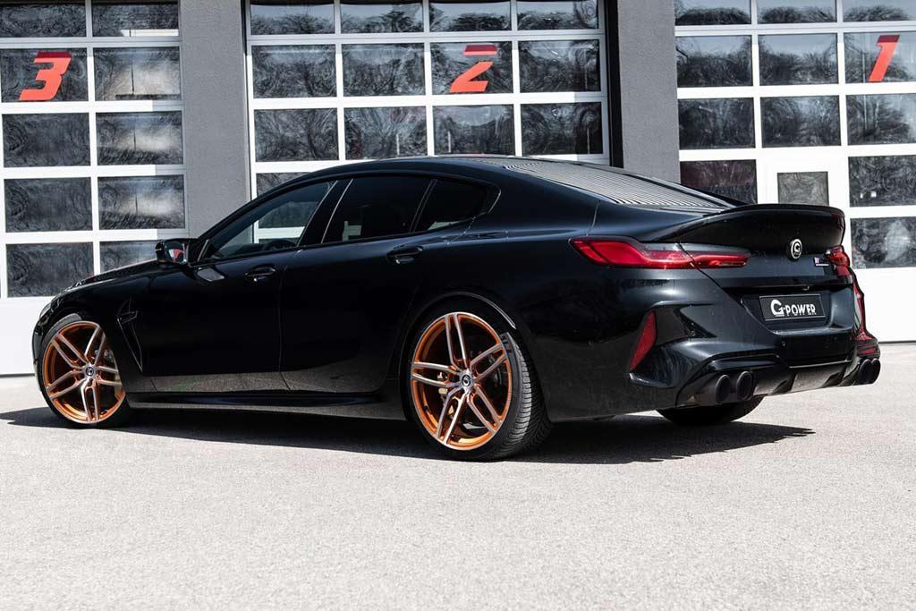 В ателье G-Power подготовили «Stage 3» для BMW M8 Gran Coupe