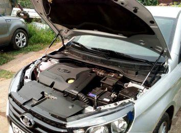Двигатель на Весте