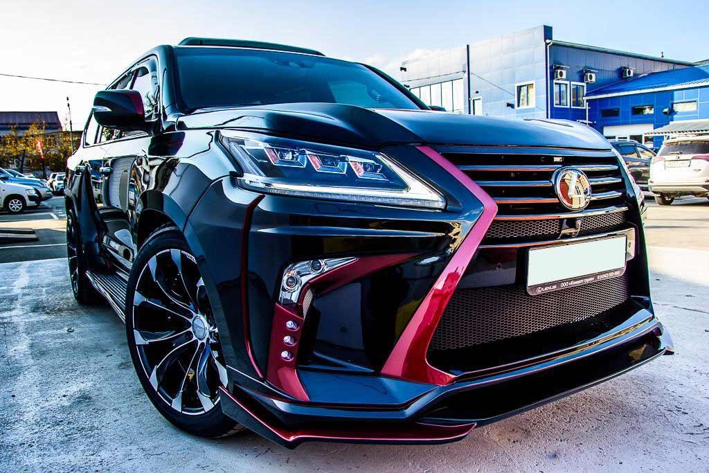 Lexus готовит большой рамный внедорожник для американского рынка