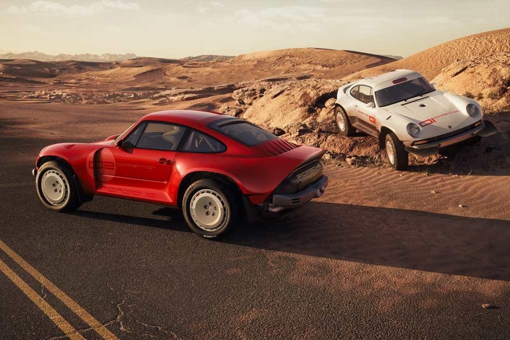 Фирма Singer переделала классический Porsche 911 (964) в раллийный болид