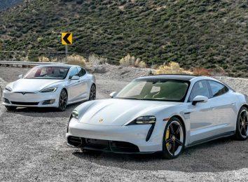 Taycan и Model S