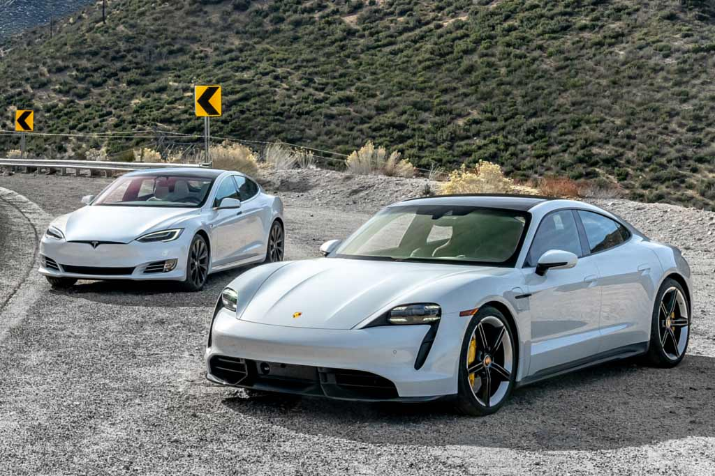 В Porsche предлагают Теслу на тест: возможно это не лучшее решение