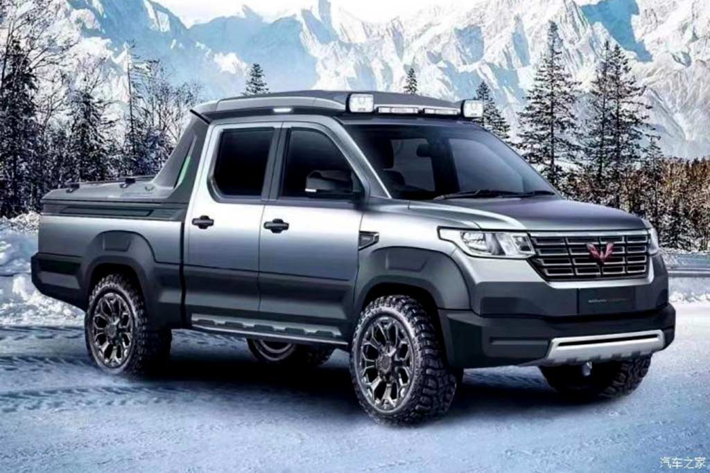 Китайский UAZ: новый Wuling Journey оказался похож на УАЗ Пикап