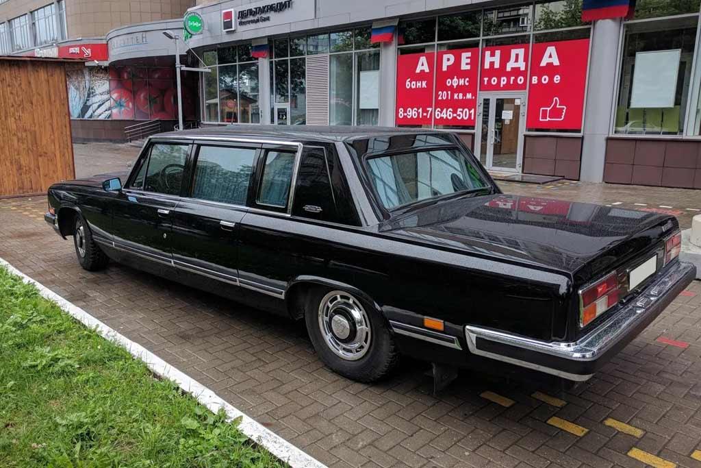 За лимузин ЗИЛ-41045 продавец просит ₽37 млн: столь высокой цене есть объяснение