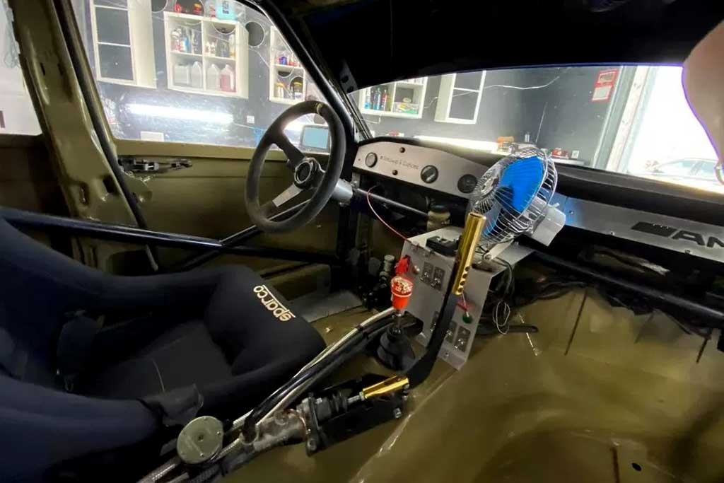 Дрифтовый Mercedes 190E
