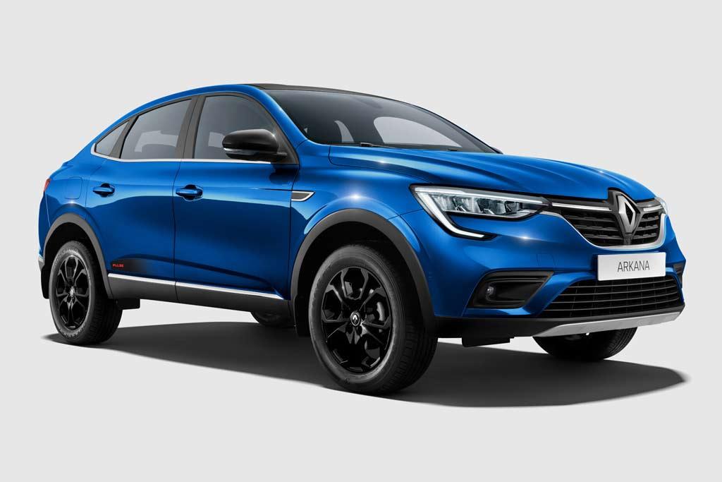 Renault Arkana Pulse: спецверсия паркетника с двухцветным кузовом
