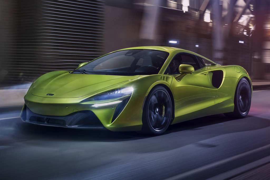 McLaren Artura: гибридный суперкар с полностью новым ДВС