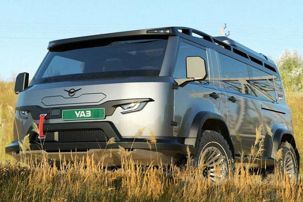 Как могла бы выглядеть современная версия УАЗ «Буханка»: понравилось не всем