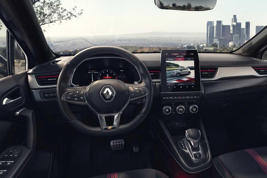 Европейский Renault Captur обзавелся «спортивной» версией R.S. Line