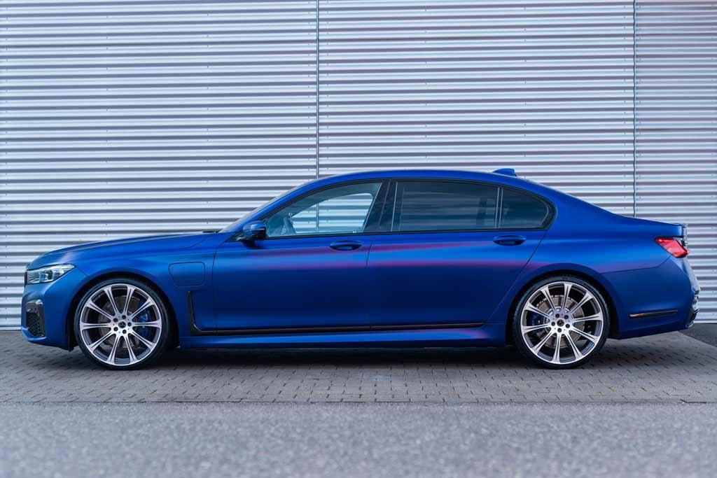 Гибридный BMW 745Le xDrive от ателье Dahler оказался мощнее нового M3 Competition