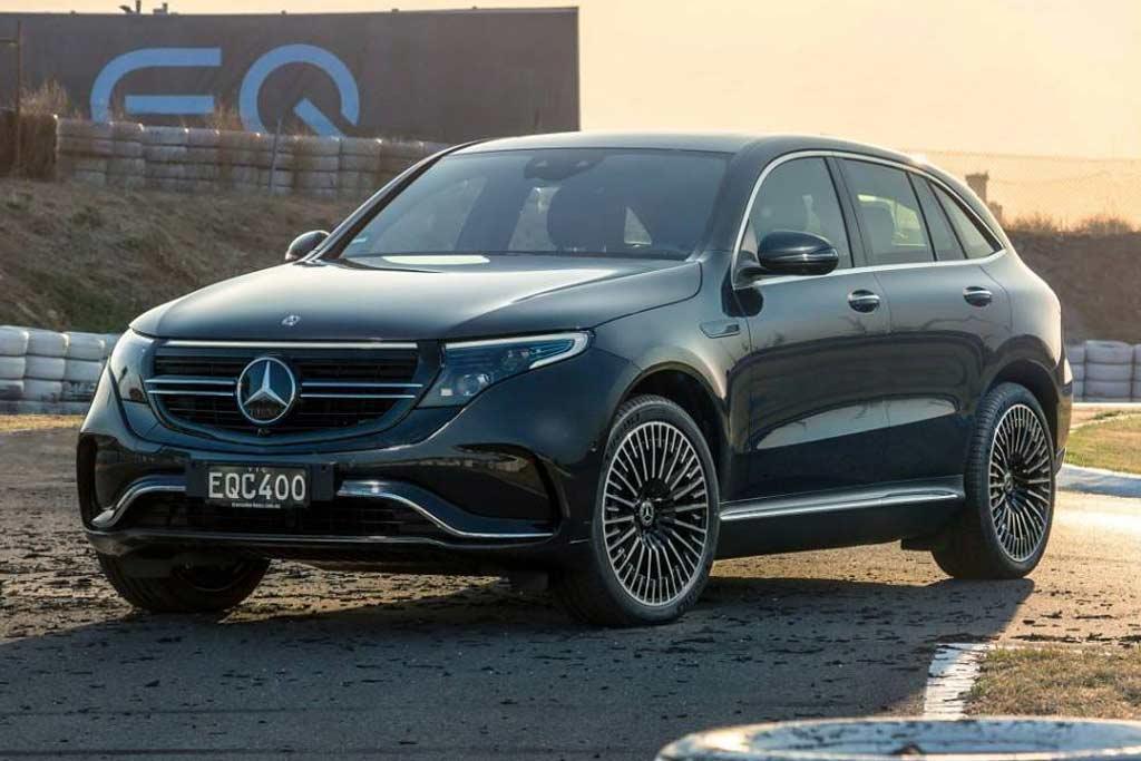 Электрический Mercedes EQC провалился на рынке: в США и РФ его можно не ждать