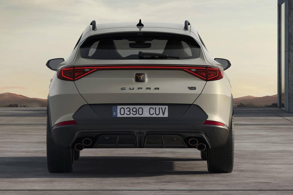 Cupra Formentor VZ5: «заряженная» версия паркетника с мощным мотором от Audi