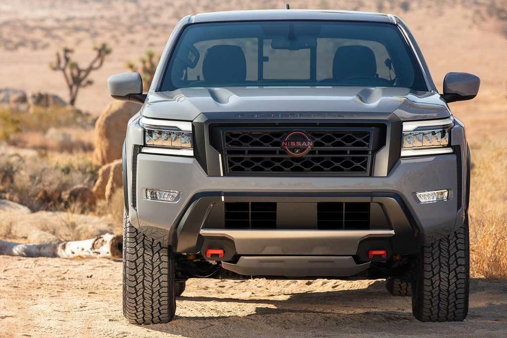 Nissan Frontier 2021: новый пикап для рынка США дистанцировался от Навары