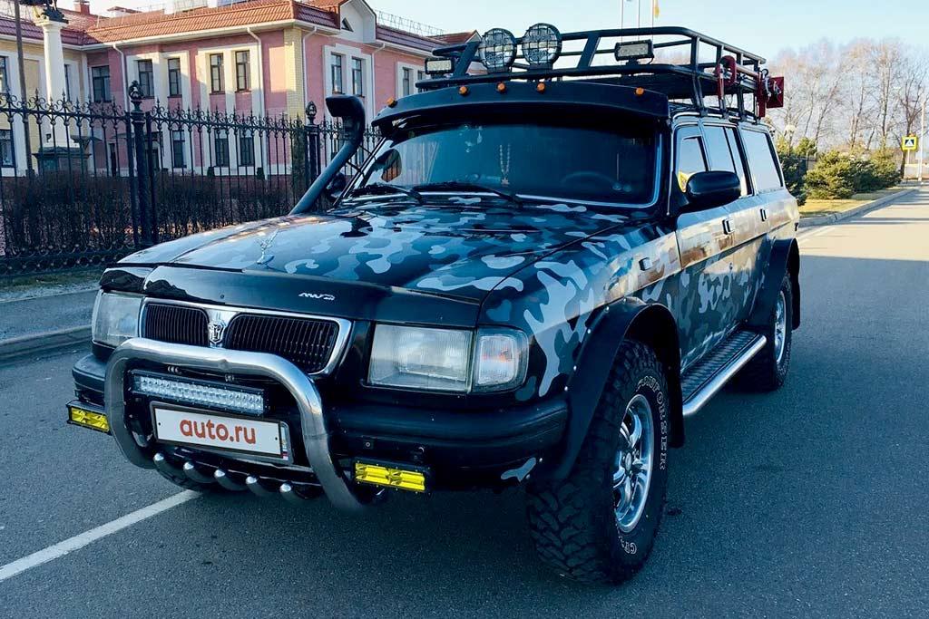 В продаже доработанная «Волга» с крутым салоном и мотором V8 на 300 л.с.