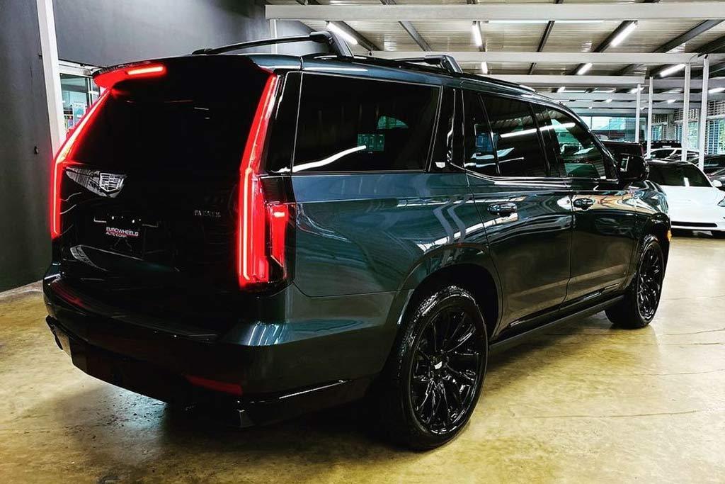 GM готовит «заряженный» Cadillac Escalade мощность свыше 600 сил