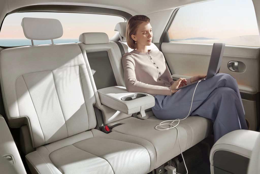 Hyundai Ioniq 5: электрический паркетник с необычным дизайном