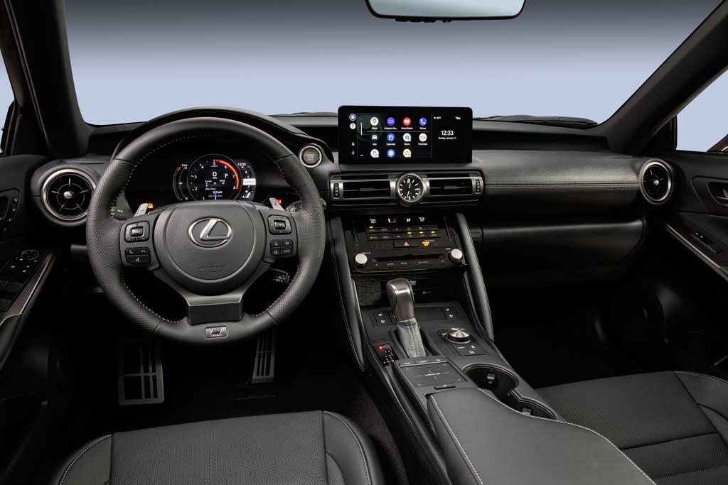 Lexus IS 500 F Sport Performance: «заряженная» версия седана нового поколения