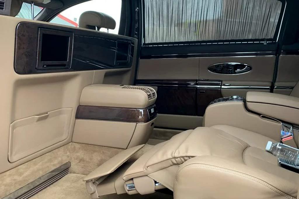 Идеально сохранившийся лимузин Maybach 62 оценили в 35 млн рублей