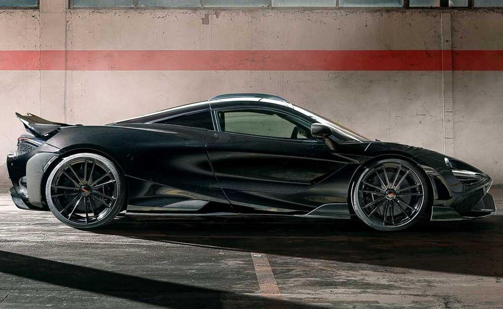 McLaren 765LT от Novitec: карбоновый обвес и больше мощности