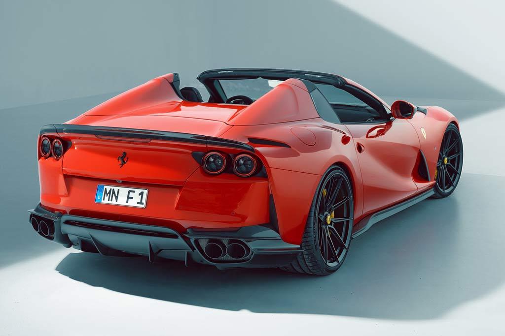 Красота в деталях: тюнеры из Novitec доработали Ferrari 812 GTS