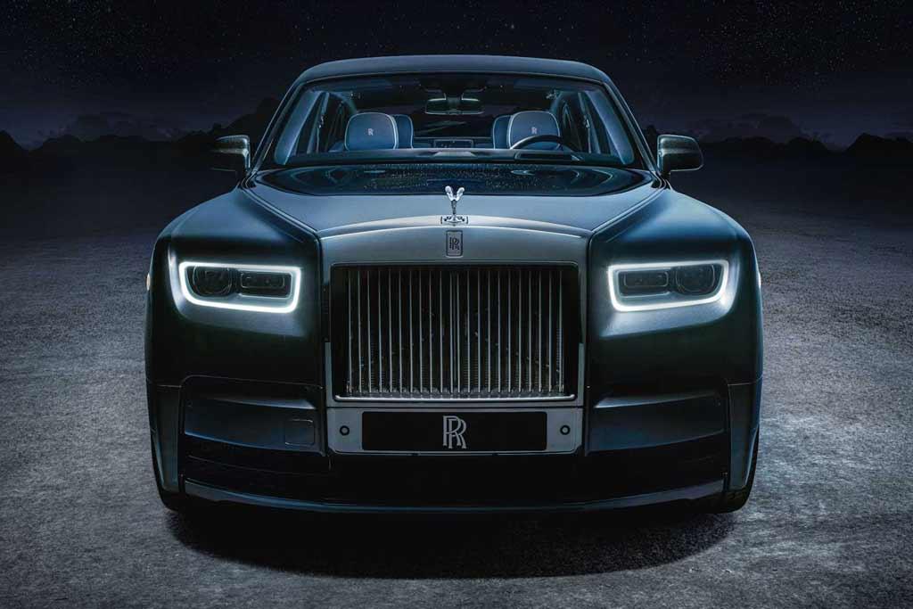 Rolls-Royce Phantom обзавелся «космической» спецверсией Tempus Collection