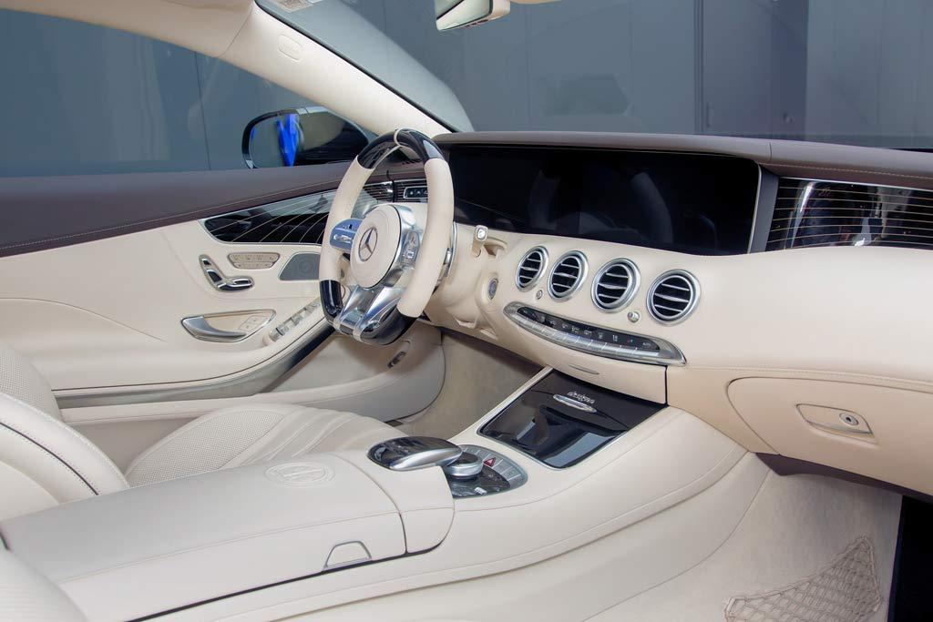 Обычный снаружи Posaidon S63 Coupe прокачали до 940 «лошадей» и 350 км/ч