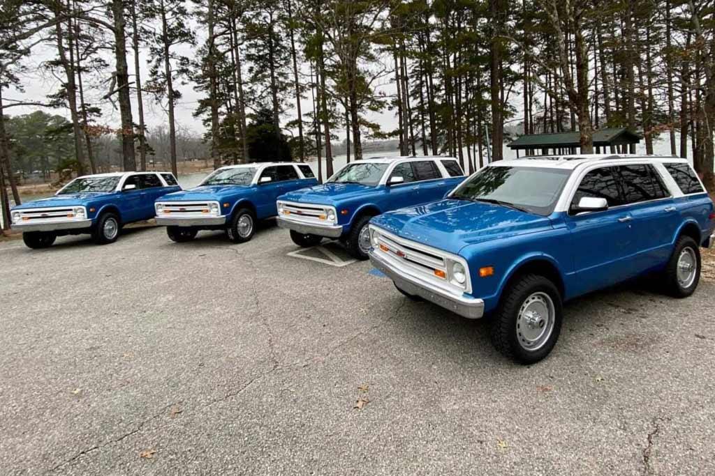 Chevrolet Tahoe стилизовали под K5 Blazer: весь тираж скупил один человек