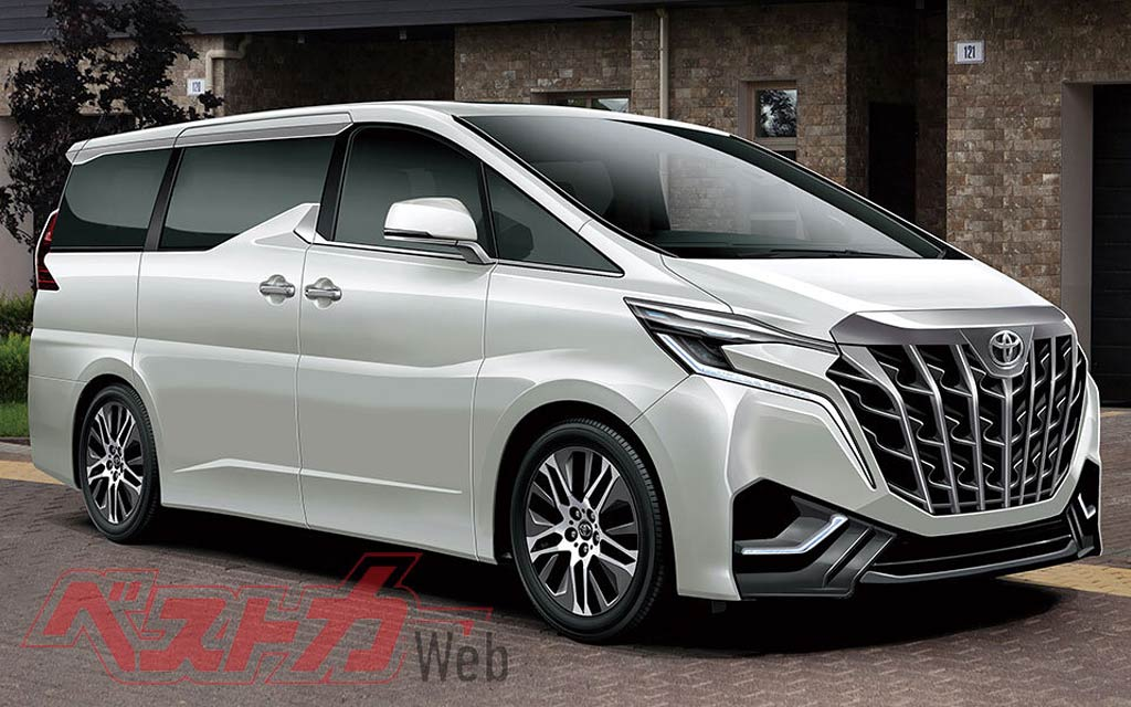 Японцы готовят бизнес-вэн Toyota Alphard нового поколения: что известно о модели
