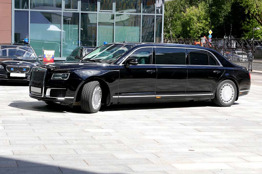 Лимузины марки Aurus получат именные шины российского производства