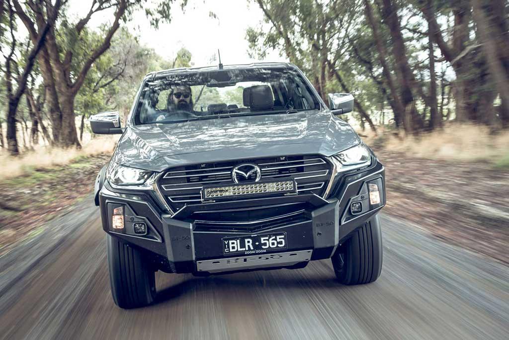 Mazda BT-50 Thunder: эксклюзивная версия пикапа для рынка Австралии