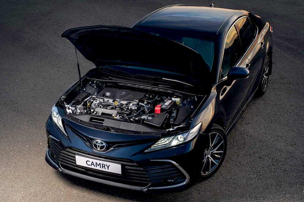 Все подробности о новой Toyota Camry 2021 для России: известны цены