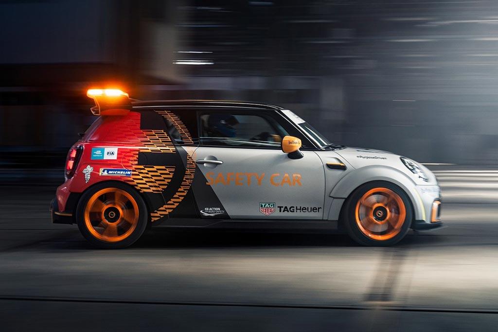 Mini Electric Pacesetter: новая машина безопасности для гоночной серии Формула-Е