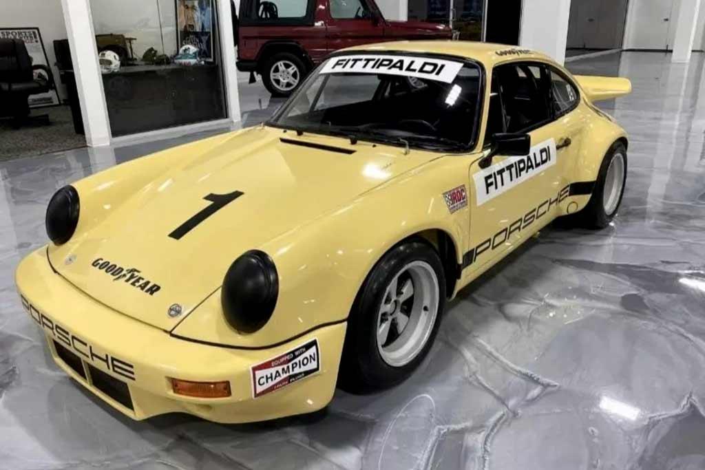 Редкий Porsche 911 RSR из коллекции Пабло Эскобара продают за 163 млн рублей