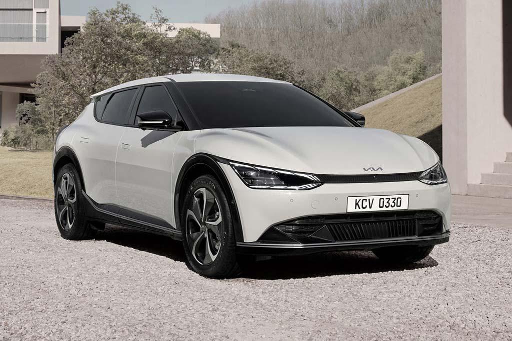 Электрокар KIA EV6 станет первой моделью бренда в новом направлении дизайна